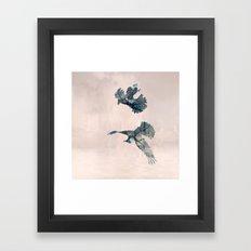 Angry birds Framed Art Print