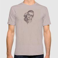 No.5 Fashion Illustration Series Mens Fitted Tee Cinder SMALL