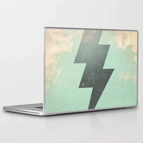 Bolt from the Blue Laptop & iPad Skin