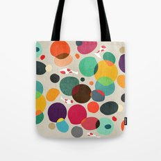 Lotus in koi pond Tote Bag