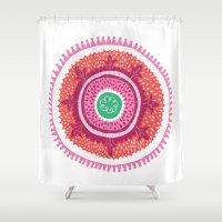 Suzani I Shower Curtain