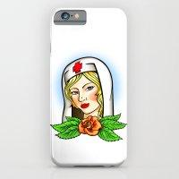 Nurse Tattoo Flash iPhone 6 Slim Case