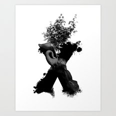 X Animals II Art Print
