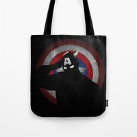 SuperHeroes Shadows : Ca… Tote Bag