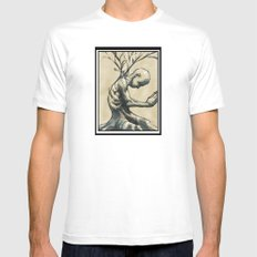 Always SMALL White Mens Fitted Tee