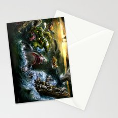 Plight of the Seabots Stationery Cards
