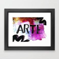 ARTE Framed Art Print