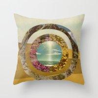 Nature Scene Throw Pillow