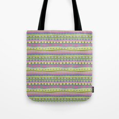 Stripey-Fairytale Colors Tote Bag