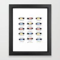 Medicate. Framed Art Print