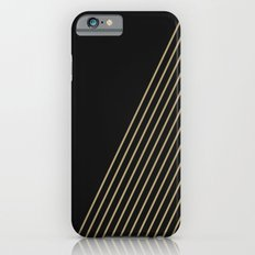 Tan & Black Stripes  Slim Case iPhone 6s