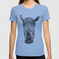 Rhino Womens Fitted Tee Athletic Blue SMALL