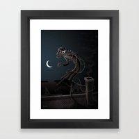 Somnabulist Framed Art Print