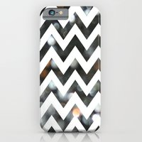 Chevron Glitter iPhone 6 Slim Case