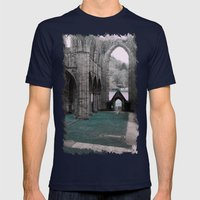 Last Days Mens Fitted Tee Navy SMALL