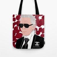 Karl Lagerfeld Tote Bag