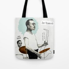 ANALOG zine - Vocalese Sax Solo Tote Bag