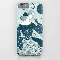 iPhone & iPod Case featuring Little Briar Rose by Paula McGloin