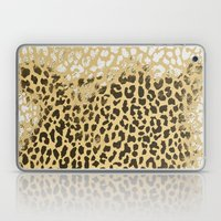Golden Leopard Laptop & iPad Skin