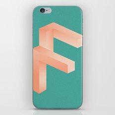 Futuristic F iPhone & iPod Skin