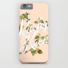 Peachy Keen : Peach iPhone 6s Slim Case