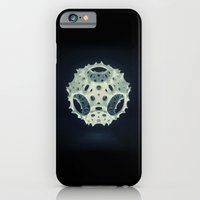 iPhone & iPod Case featuring Icosahedron Bloom by Richard George Davis