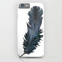 iPhone & iPod Case featuring Feather - Enjoy the difference! by gwenola de muralt