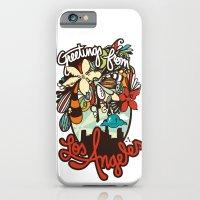 Greetings from Los Angeles iPhone 6 Slim Case
