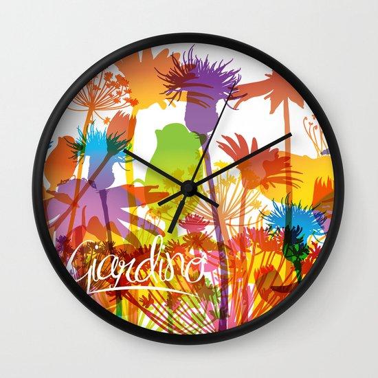 Giardino Wall Clock