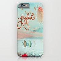iPhone & iPod Case featuring Joyful Joyful by Laura Santeler