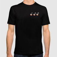 Red Indian Mens Fitted Tee Black SMALL