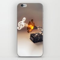 let the music play (just keep the groove) iPhone & iPod Skin