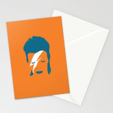 Ziggy Stardust - Orange Stationery Cards