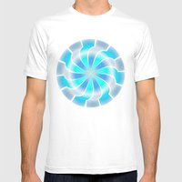 Circle Study No. 312 Mens Fitted Tee White SMALL