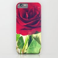 iPhone & iPod Case featuring Red Rose by Allison corn