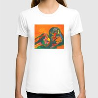 Fauvism Female Womens Fitted Tee White SMALL