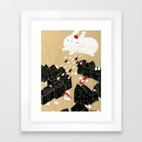 Rain of Terror Framed Art Print