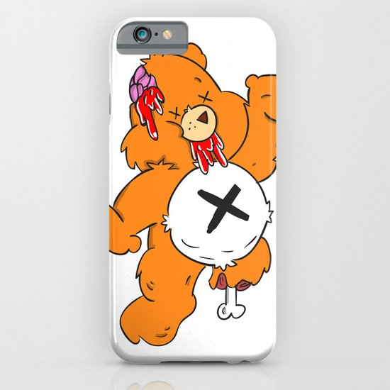 Not So Care Bear iPhone & iPod Case