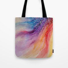 Rainbow Doodles Tote Bag