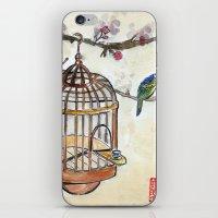 Chinese tea break iPhone & iPod Skin