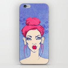 Selfie girl_3 iPhone & iPod Skin