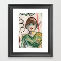 Fall Day Framed Art Print