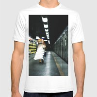 For the Love of Rome Mens Fitted Tee White SMALL