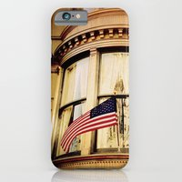 iPhone & iPod Case featuring 'UPPER WEST SIDE PATRIOT' by Dwayne Brown