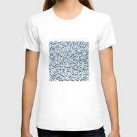 whale T-shirts featuring Whale, Sperm Whale by Elena O'Neill
