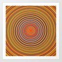 Hard Candy Swirl Art Print