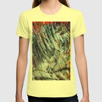Unbrevitus Womens Fitted Tee Lemon SMALL