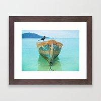 BOATI-FUL Framed Art Print