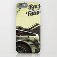 back to the future iPhone & iPod Cases featuring Back to the future by Duke.Doks