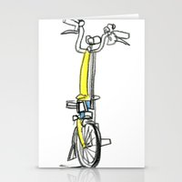 Brompton front view Stationery Cards